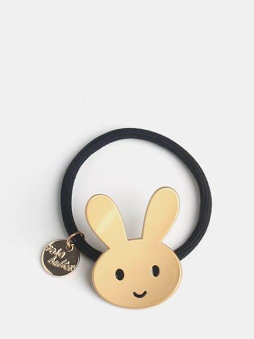 Rabbit bend cartoon Cute Smiling Face Bending Cartoon Hair Rope