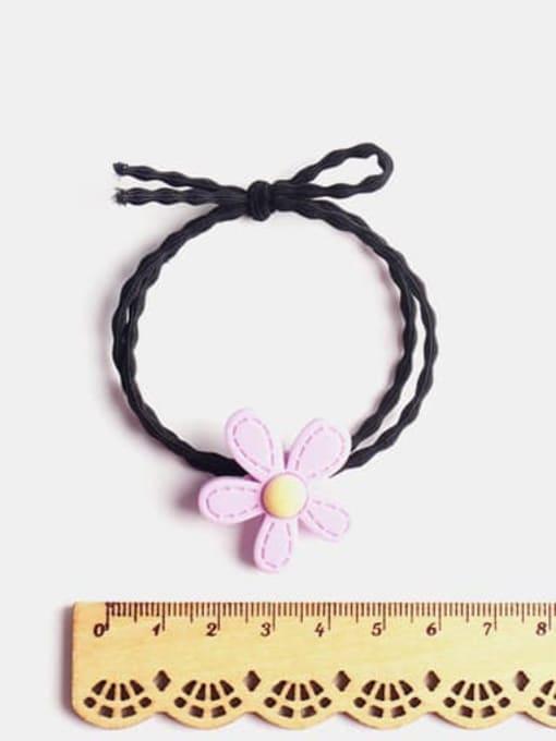 JoChic Enamel Cute Flower Resin Multi Color Hair Barrette 1
