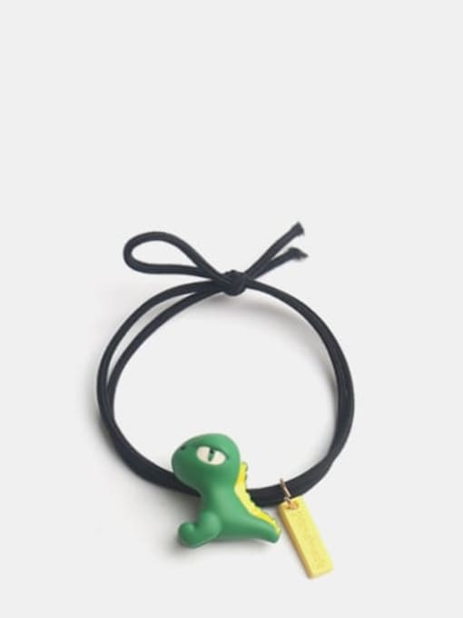 High cold side face dinosaur Cute Dinosaur Hair Rope