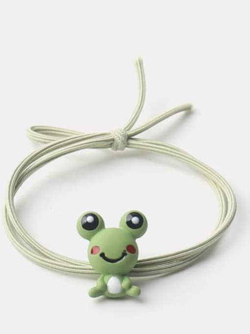 JoChic Cute Frog Zebra Fox  Hair Rope 0