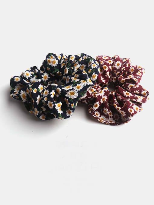 JoChic Fabric Minimalist Flower Hair Barrette 1
