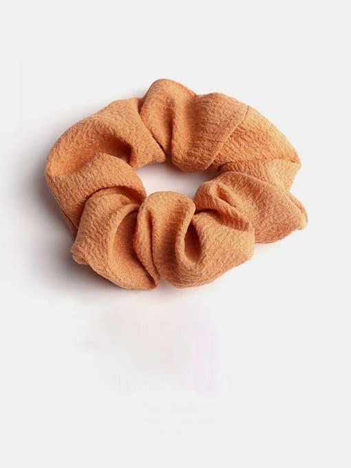 Orange Minimalist Fabric  Hair Barrette