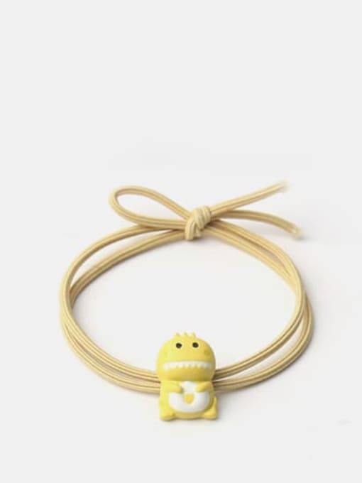 Yellow 1 Cartoon animal Hair Rope
