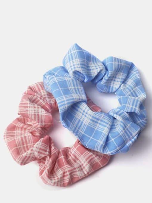 JoChic Fabric Minimalist Multi Color Hair Barrette 0