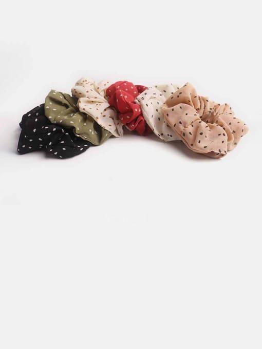 JoChic Fabric Minimalist Hair Barrette 1