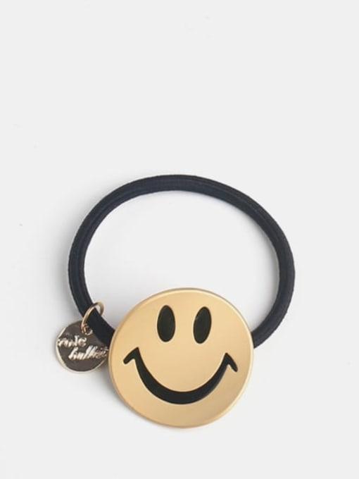 Smiling face bending cartoon Cute Smiling Face Bending Cartoon Hair Rope
