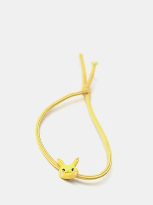 Pikachu Cute Pikachu Dinosaur Brown Bear Rabbit Frog  Hair Rope