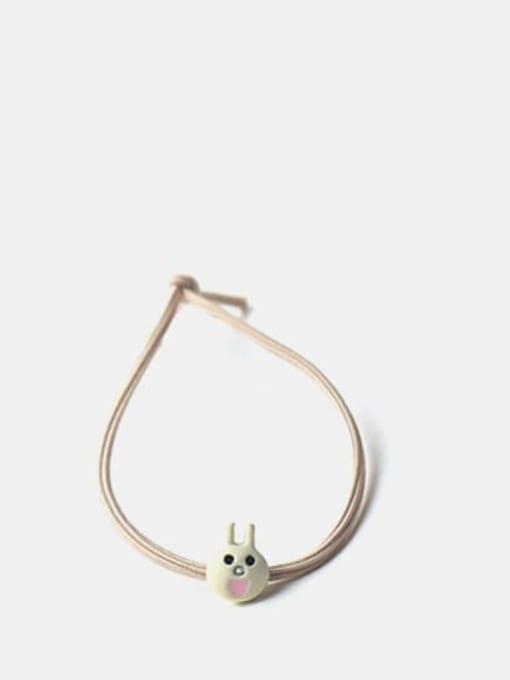 rabbit Cute Pikachu Dinosaur Brown Bear Rabbit Frog  Hair Rope