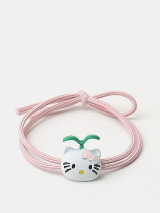 hellokitty Alloy Enamel Cute Long grass Cartoon Bear Multi Color Hair Rope