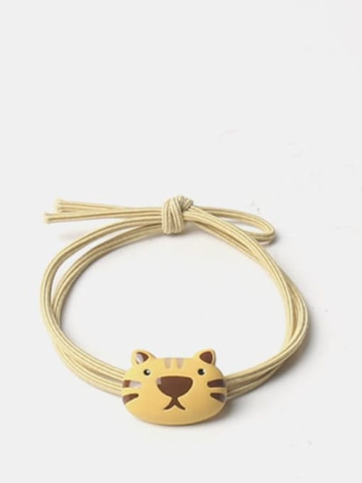 Yellow rope Alloy Cute Icon  Hair Rope