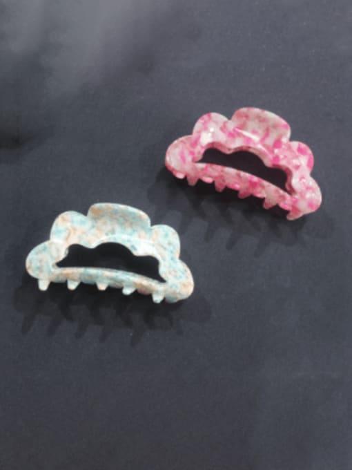 BUENA Cellulose Acetate Minimalist Geometric Jaw Hair Claw 0