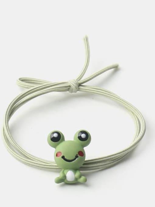 frog Cute Frog Zebra Fox  Hair Rope