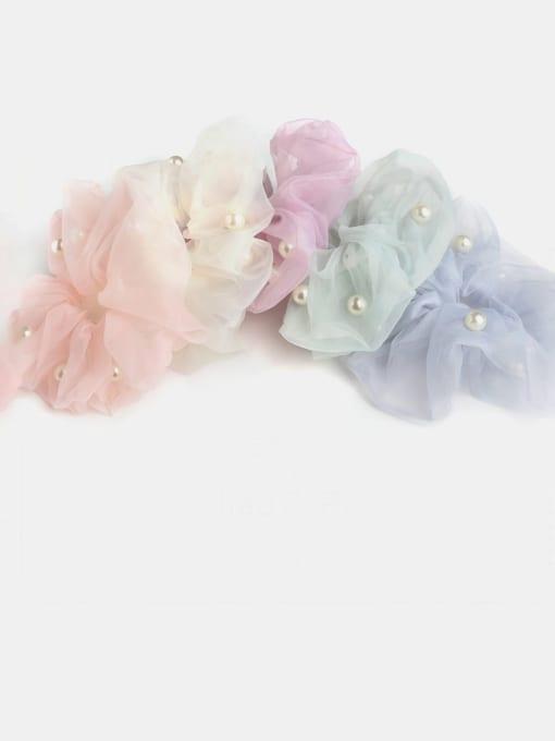 JoChic Yarn Minimalist Imitation Pearl Hair Barrette