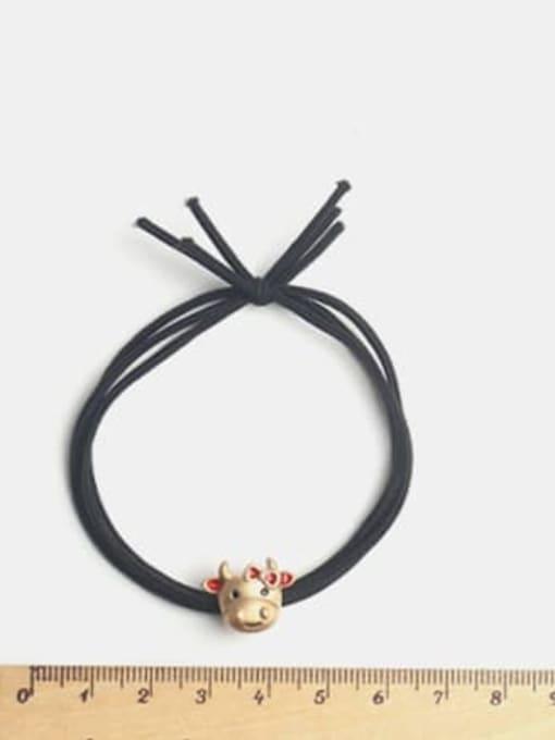 JoChic Cute cartoon Red Cow Hair Rope 2