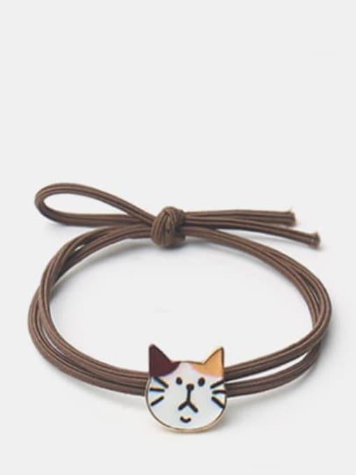 Colorful ear cat Cute Black Cat Hair Rope