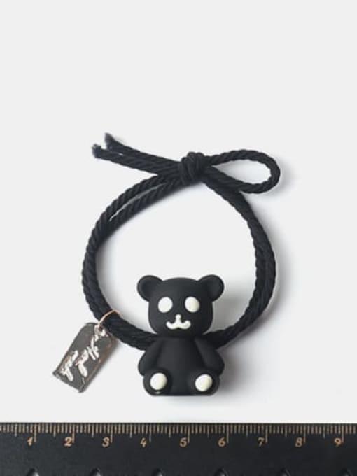JoChic Cute Multicolor puppet bear Hair Rope 1