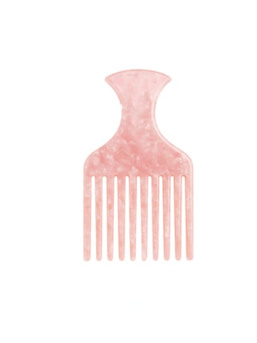 BUENA Cellulose Acetate Minimalist Multi Color Hair Comb 3