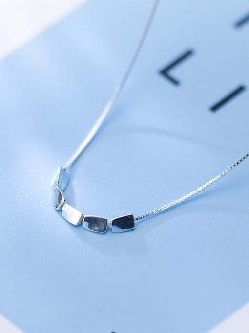 Rosh 925 Sterling Silver Silver Minimalist Necklace 2
