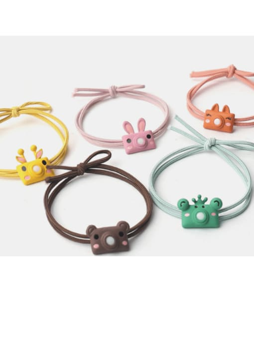 JoChic Cute cartoon animal hair rope 1