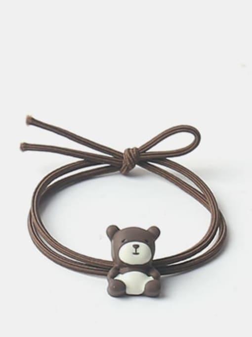 brown Cute Icon Hair Rope