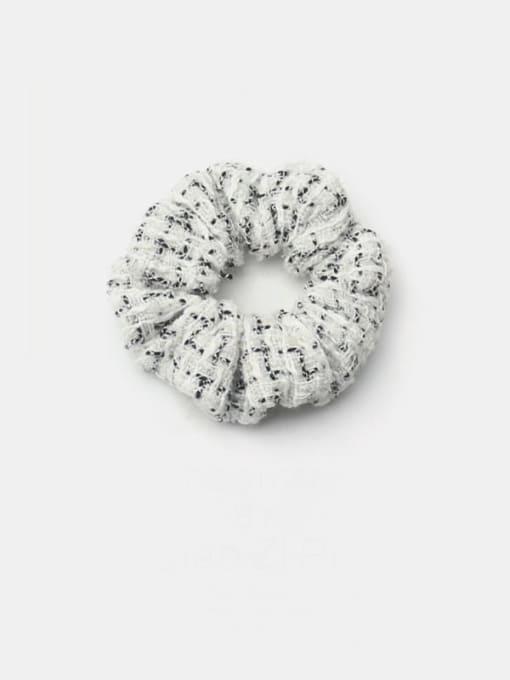 White small fragrant colon ring Fabric Minimalist Hair Barrette