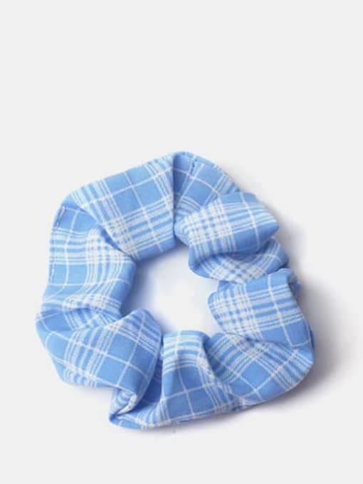 Blue Fabric Minimalist Multi Color Hair Barrette
