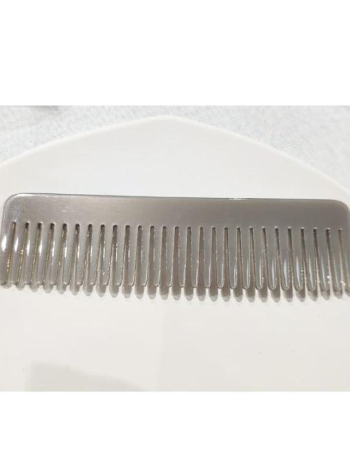 grey Cellulose Acetate Minimalist Multi Color Hair Comb