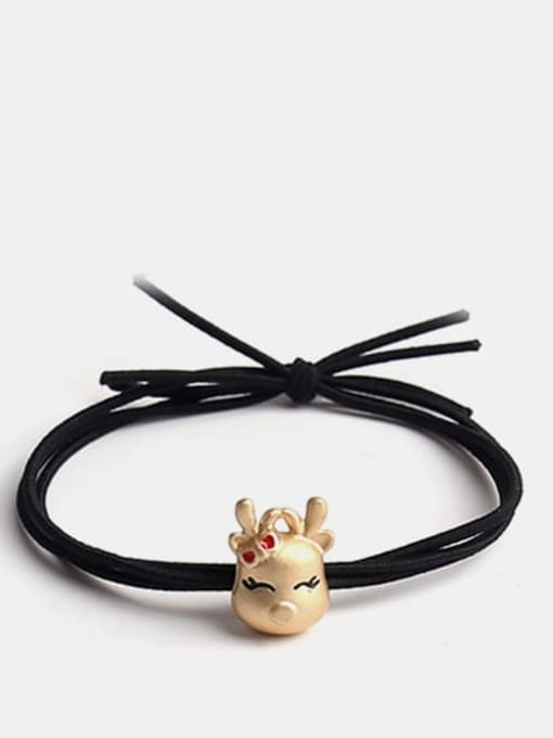 Deer Alloy Cute Cat/Deer Hair Rope