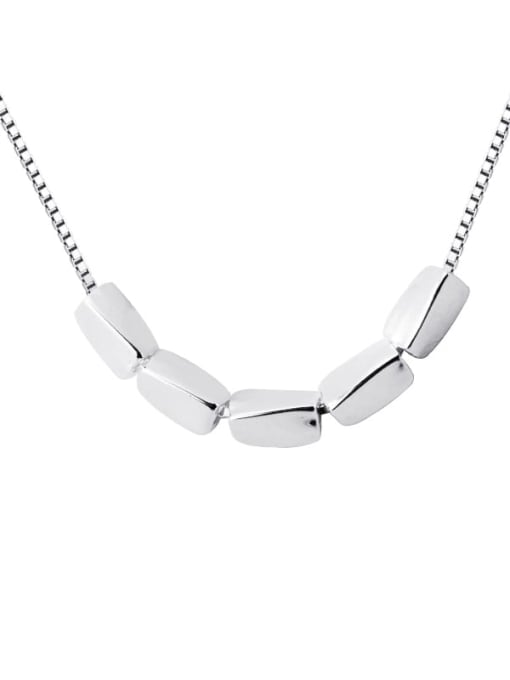 Rosh 925 Sterling Silver Silver Minimalist Necklace 4