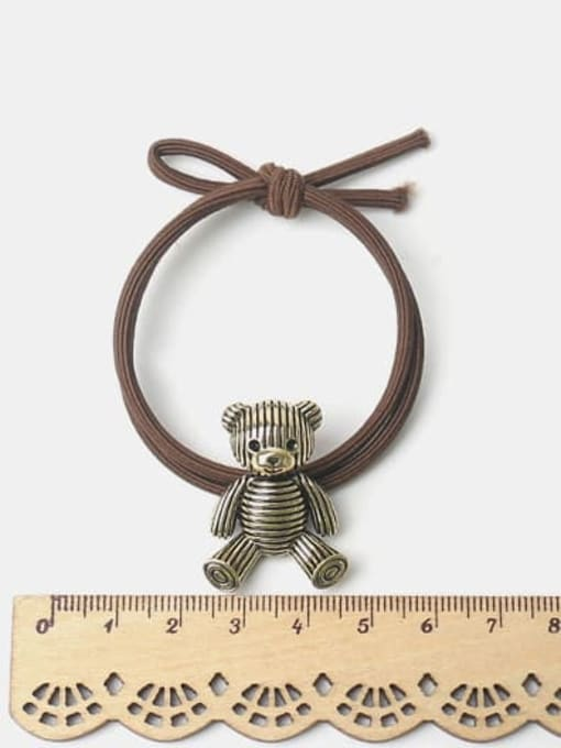 JoChic Alloy Little Bear Hair Rope