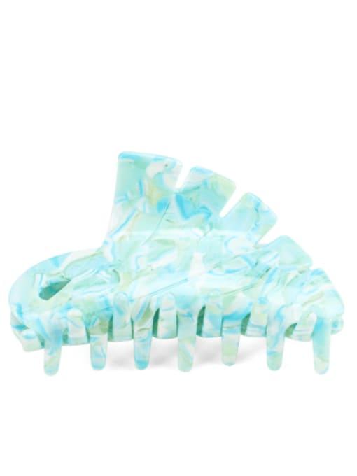 BUENA Cellulose Acetate Minimalist Geometric Jaw Hair Claw 1