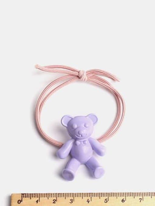 JoChic Cute fluorescent color bear Hair Rope 2