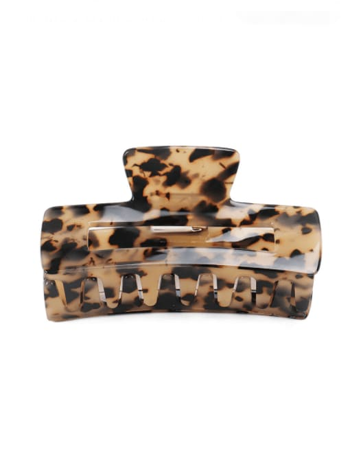 BUENA Cellulose Acetate Vintage Geometric Jaw Hair Claw