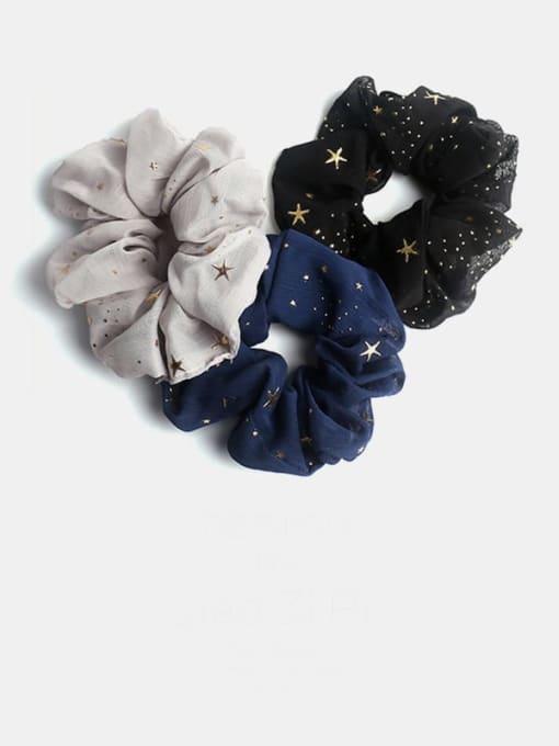 JoChic Fabric Minimalist Star Hair Barrette 0