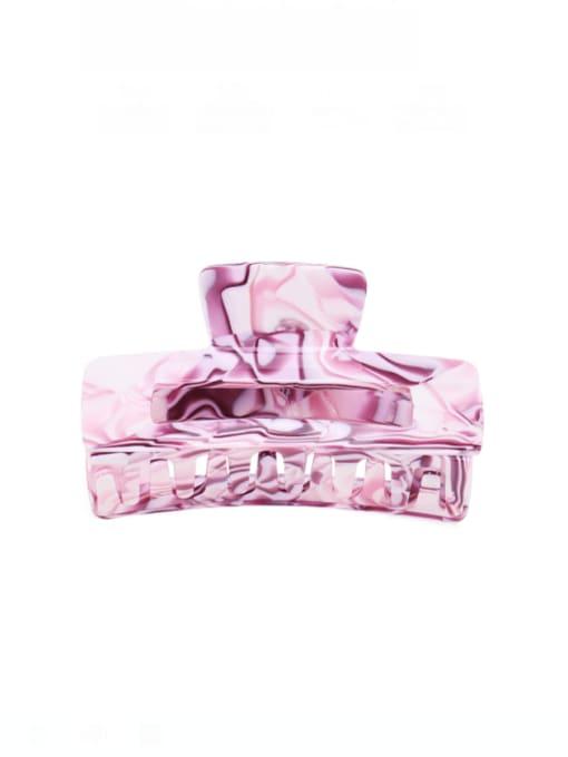 Purple marble Cellulose Acetate Minimalist Geometric Multi Color Jaw Hair Claw