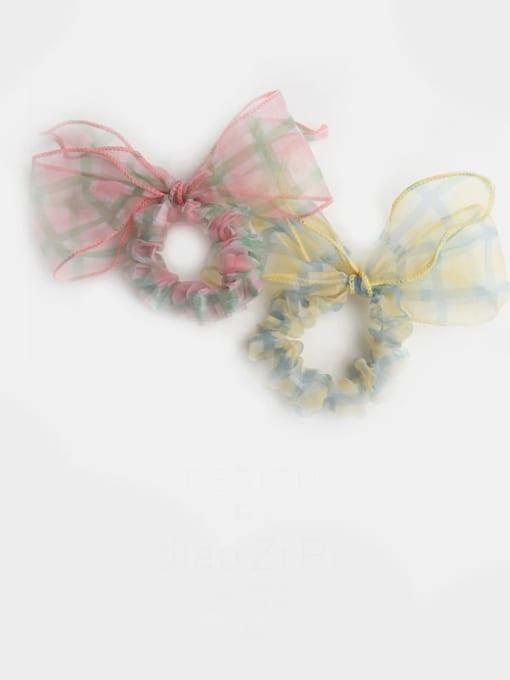 JoChic Yarn Minimalist Bowknot Hair Barrette 1