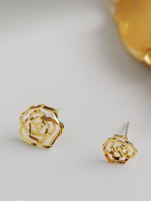HYACINTH Alloy Gold Geometric Minimalist Single Earring 0