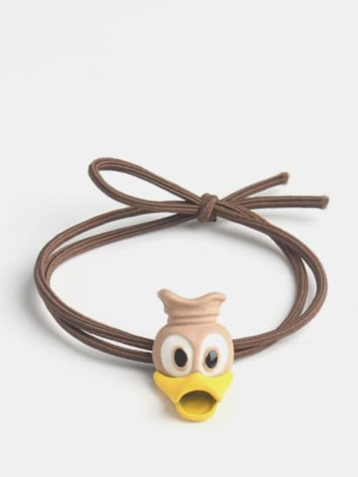 Donald Duck coffee rope Cute Donald Duck   Hair Rope