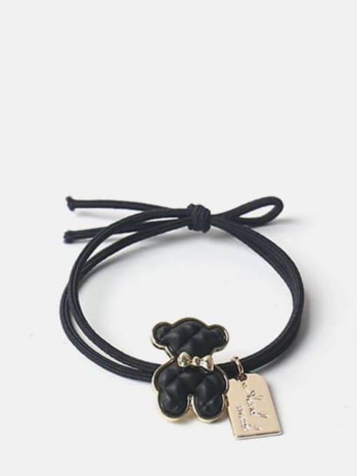 Black puppet bear Alloy Cute Denim Blue Bear Brown Puppet Bear Yellow Puppet Bear Hair Rope