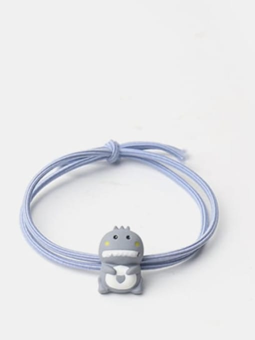 Blue grey Cartoon animal Hair Rope