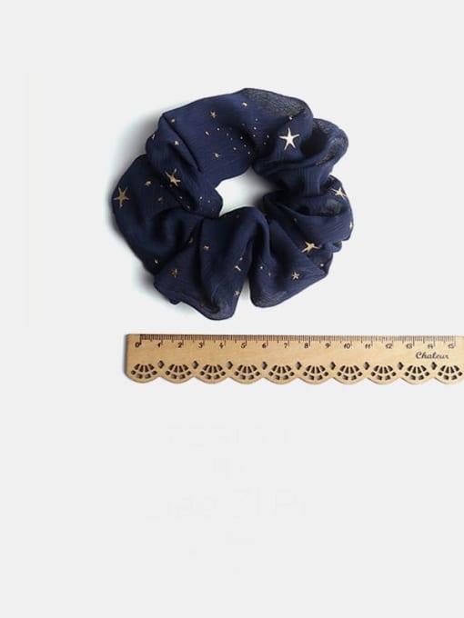 JoChic Fabric Minimalist Star Hair Barrette 3