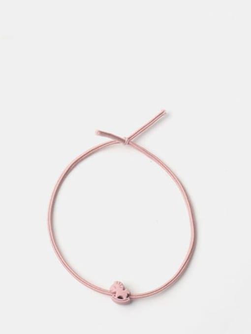 Pink Mini Trojan horse Cute Horse Hair Rope