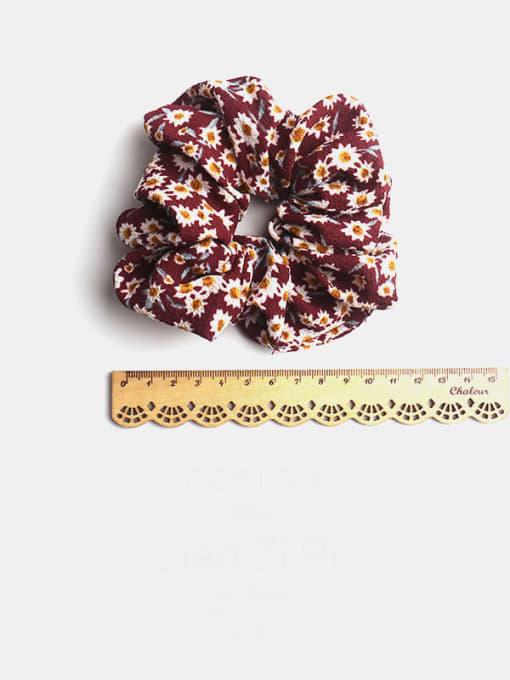 JoChic Fabric Minimalist Flower Hair Barrette 2