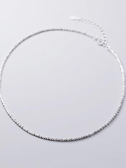Rosh 925 Sterling Silver Silver Minimalist Choker Necklace 3