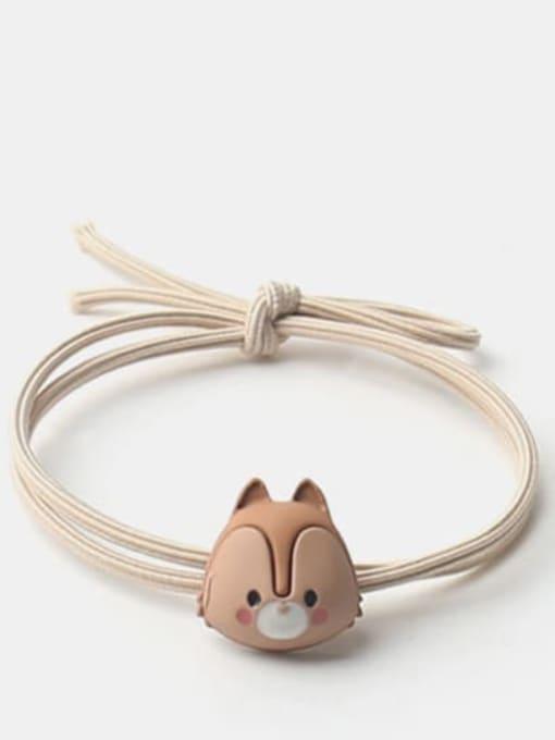 fox Cute Frog Zebra Fox  Hair Rope