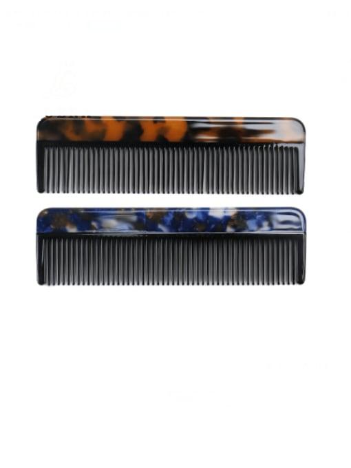 BUENA Cellulose Acetate Minimalist Multi Color Hair Comb 0