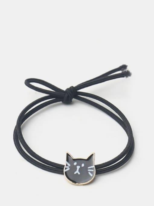 Black cat Cute Black Cat Hair Rope
