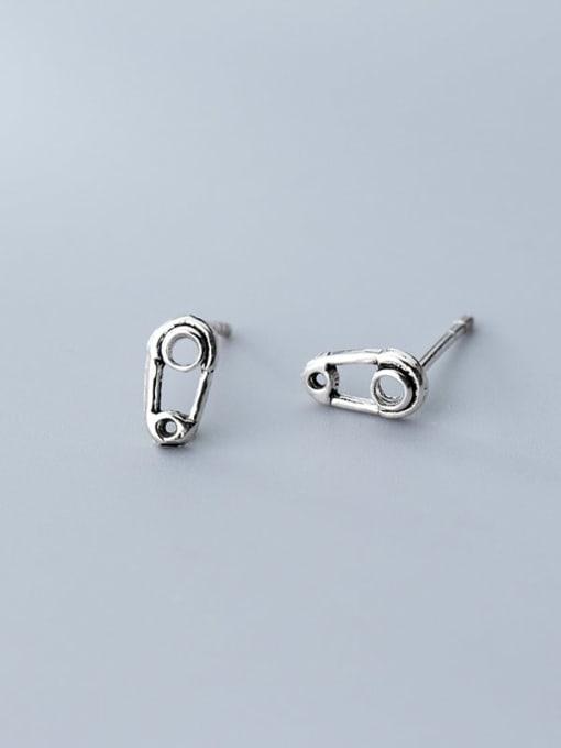Rosh 925 Sterling Silver Irregular Minimalist Chain 3