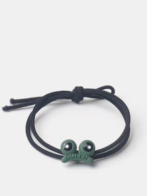 frog Alloy Enamel Cute Icon  Multi Color Hair Rope