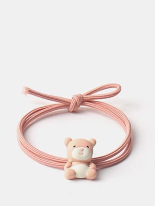 orange Cute Icon Hair Rope